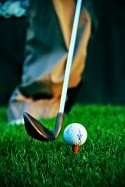 Golf Tee Photo