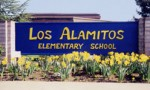 Photo: Los Alamitos Elementary School sign