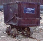 Ore cart at Casa Grande in New Almaden